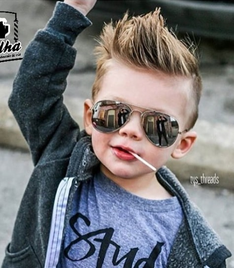 Reverse Spikes for 5 year old Boy