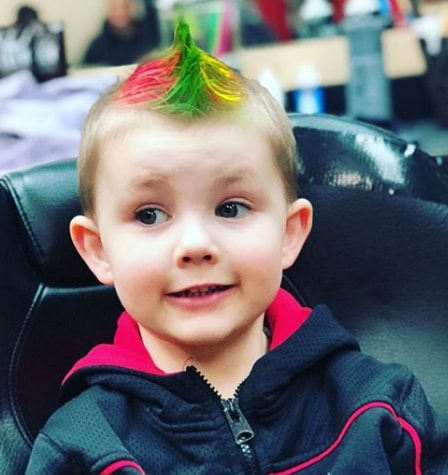 Funky Mohawk for 5 year old Boy haircuts