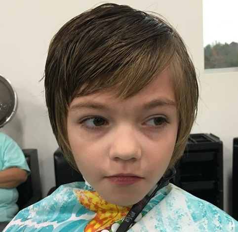 Short hairstyles for little girls