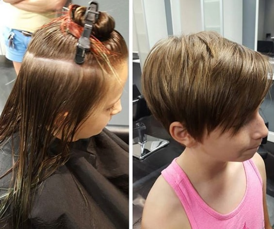 Pixie Haircut and Hairstyles for Little Girls