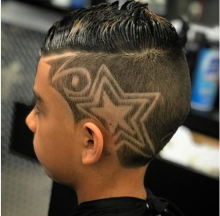 Gelled Top With Surgical Star On The Side