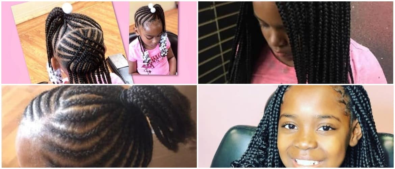 40 Braids for Black Kids