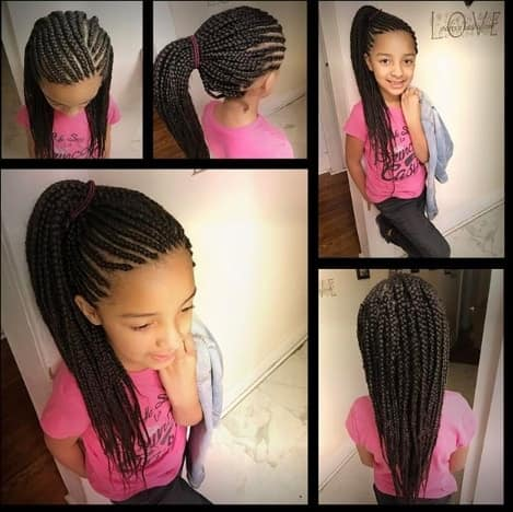 31 Box Braids For Kids 2020, Perfect Styles With Detailed