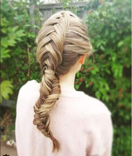 Types Of Fishtail Braid