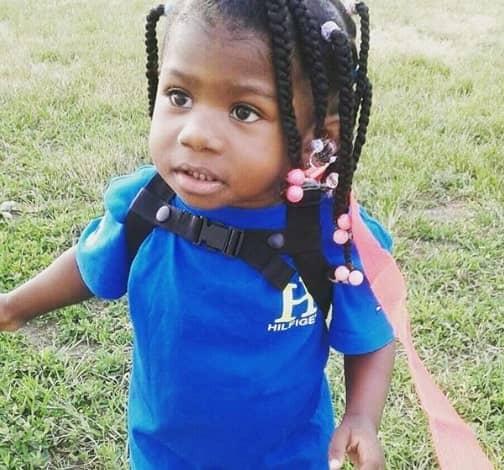 Scattered Braids for Little Black Girls