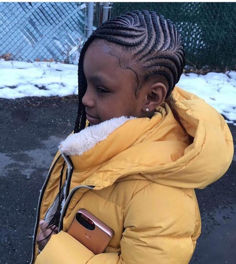Swirling Cornrows
