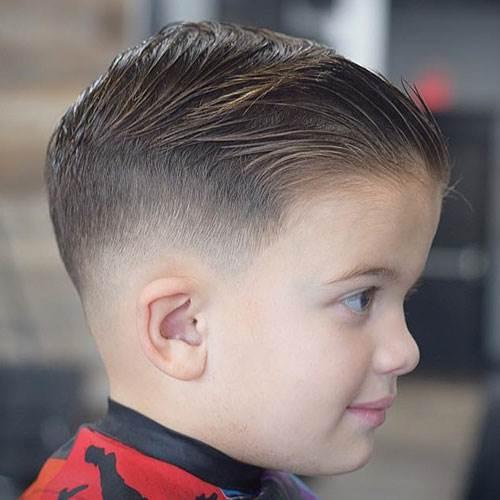 Short Fade Haircut Kids 12
