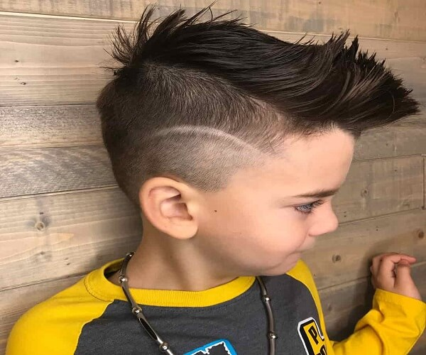 Disconnected Spiky Haircut