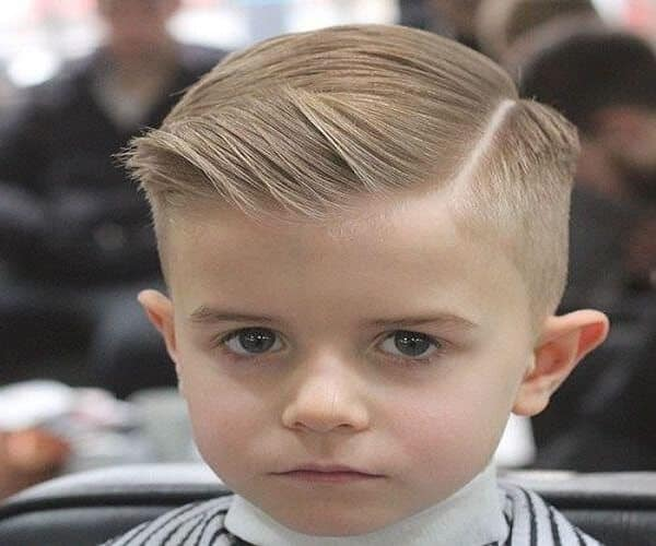 Ivy League Haircut With A Hard Part