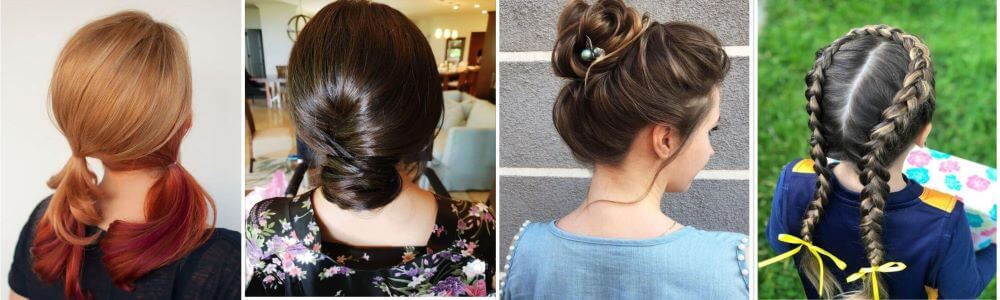 10 Quick And Easy Girls Hairstyles For School For A Simple Morning Routine