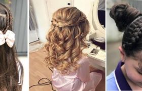 Top 10 Quick Hairstyles For School Girl For A New Twist Of Style (1)