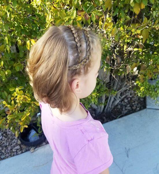 Try Back To School Hairstyles And Give Your Kids a Special Braided Style