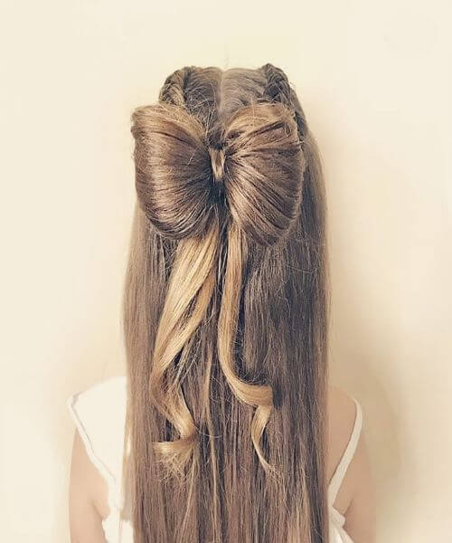 Half Up and Half Down Braided Hairstyle