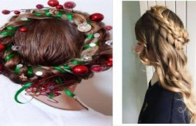 Top Easy Christmas Hairstyles For Girls This Holiday Season