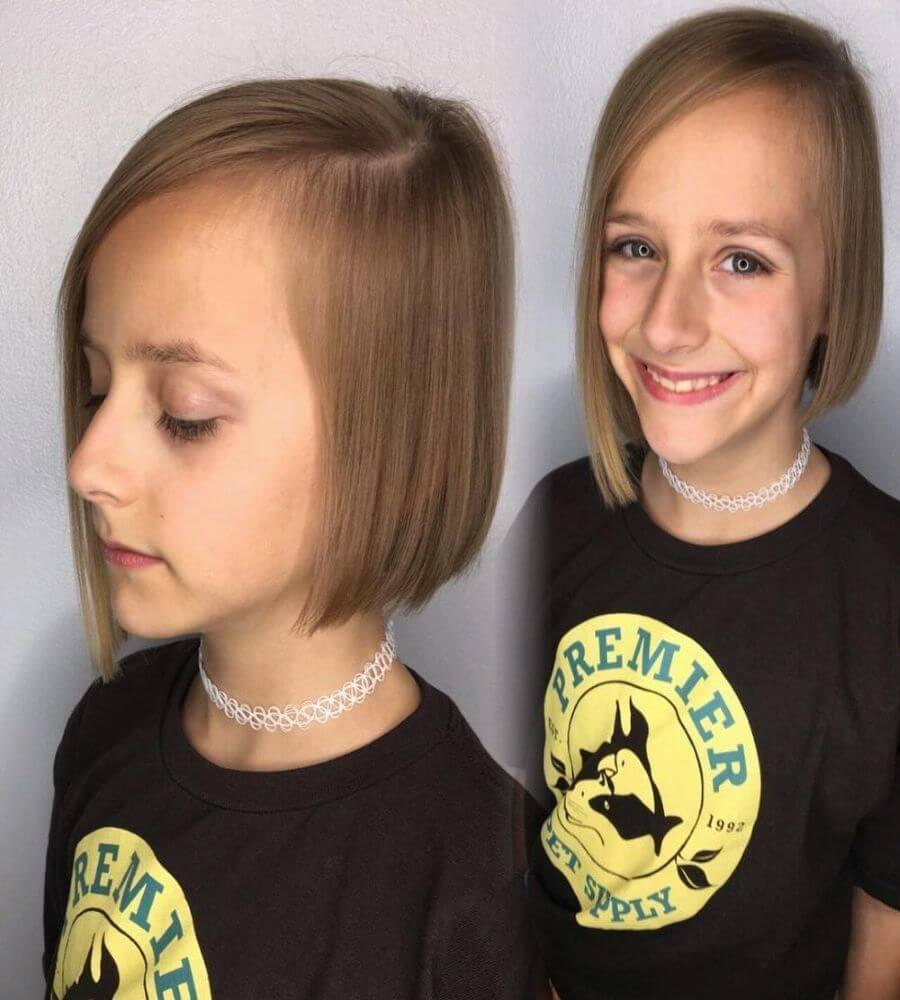 A-Line Bob For Fine Hair