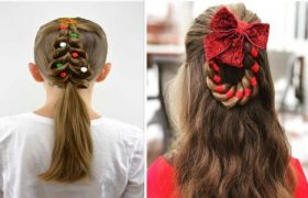 Chic And Elegant Christmas Party Hair For Girls To Catch All Eyes