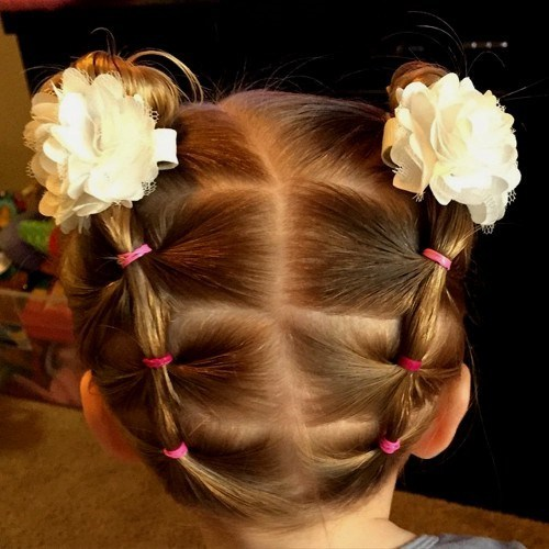 Cool Pigtails Updo