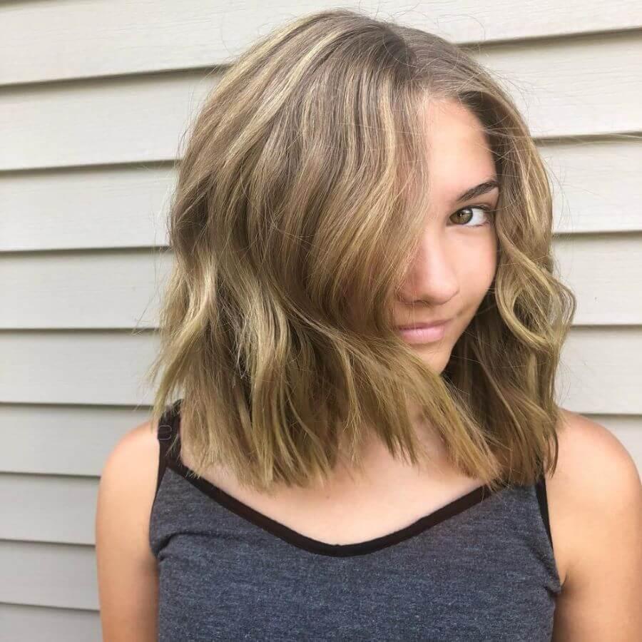 Short And Messy Haircut