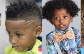 Black Toddler Boy Haircuts For Curly Hair To Add Some Style To Your Kinky Locks
