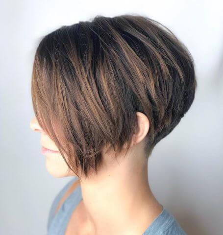 Choppy Pixie Haircut With Longish Side Bangs