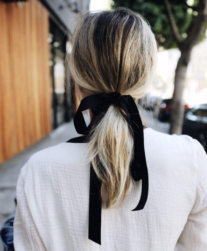 Ribbon Ponytail
