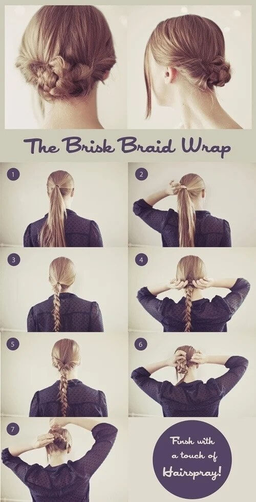 The Brisk Braid Wrap