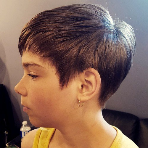 Cropped Feathered Haircut