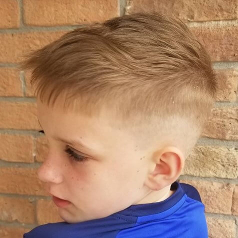 Side Swept Hairstyle With Front Bangs