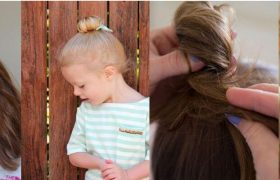 Beautiful Top Knot Hairstyle Implementations For Girls in 2020