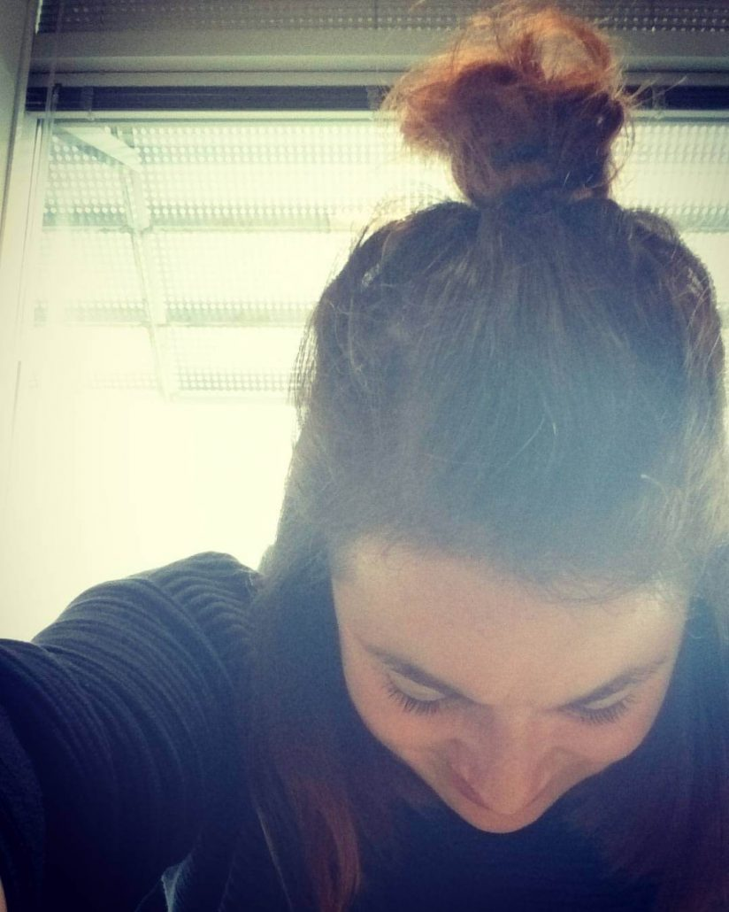 Combed Back With Casual Top Knot