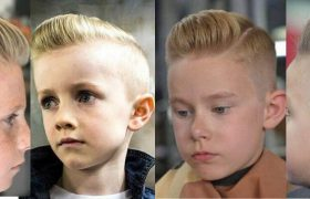 Get A New Classic Look With Short Pompadour Haircut 2020