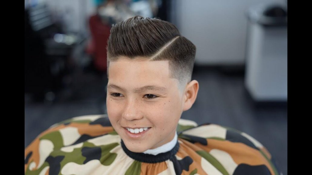 High Volume Combover With Fade