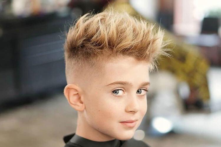 Messy Spikes With High Fade