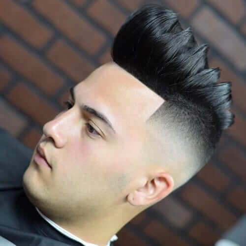 Pompadour With Fade
