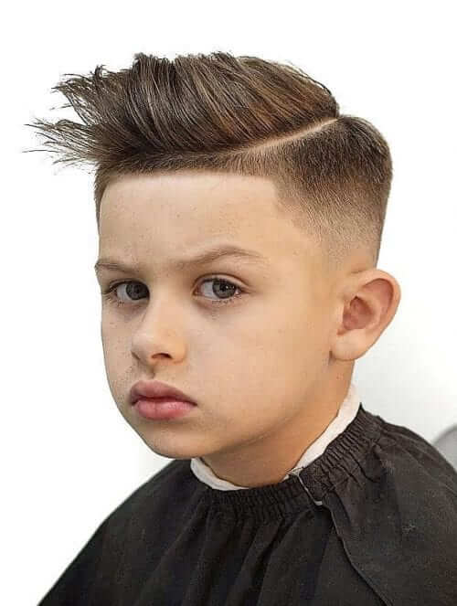 Spiky Texture With Skin Fade