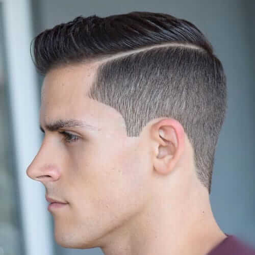 Taper Cut With A Side Part