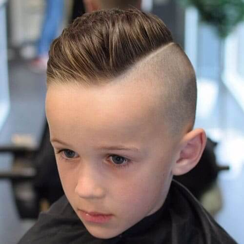 Thick Combover With Under Cut