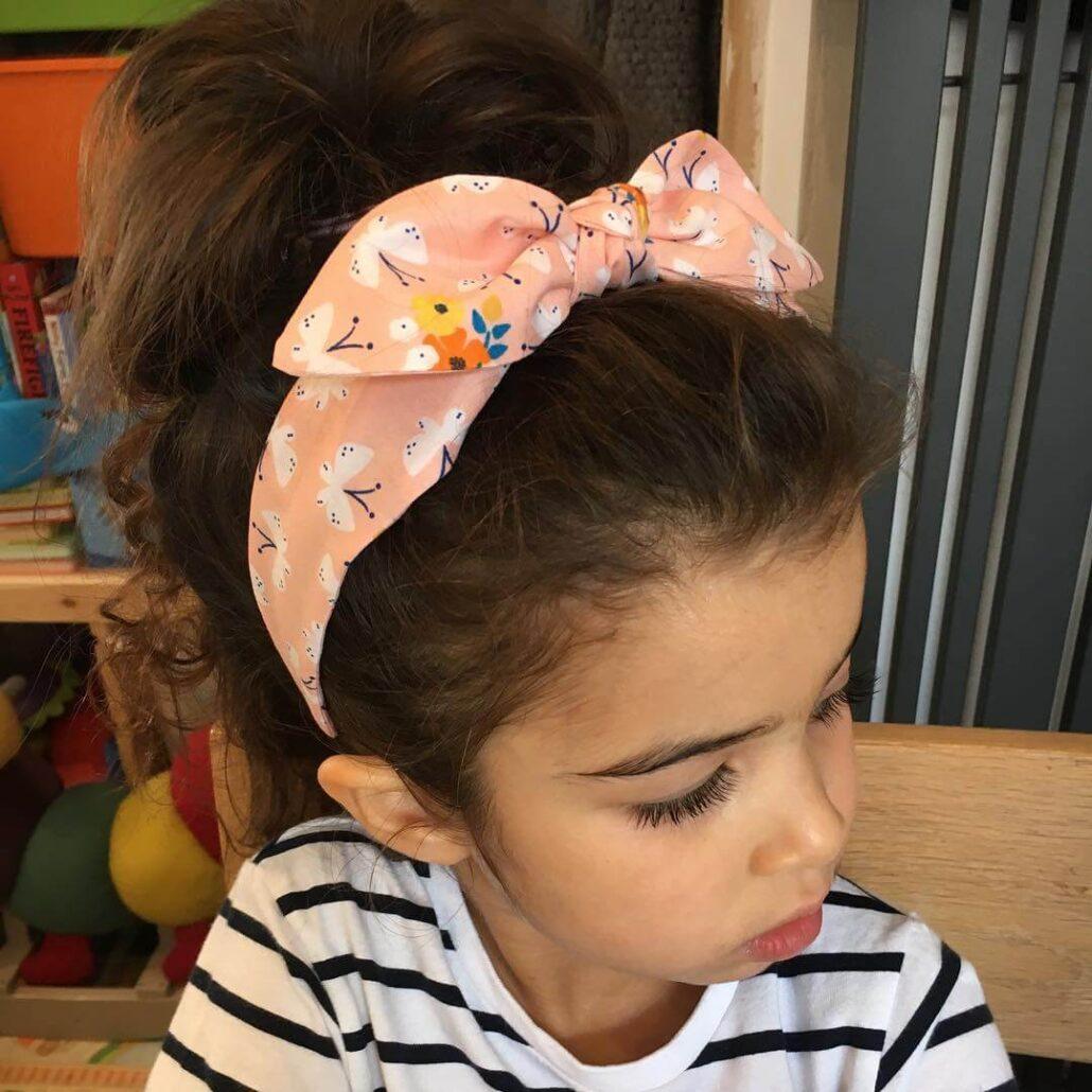 Top Knot Bun With Hair Band
