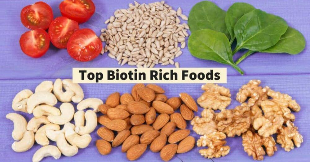 Eat Foods Rich In Protein And Biotin