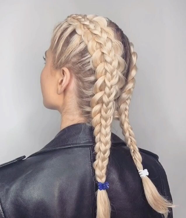 Massively Braided Top