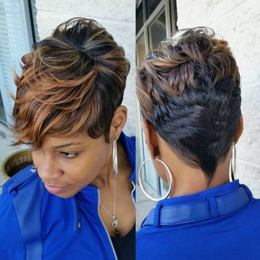 Short Hair With Edging
