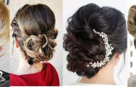 Updos For Long Hair That Will Take Minutes To Style In Quarantine