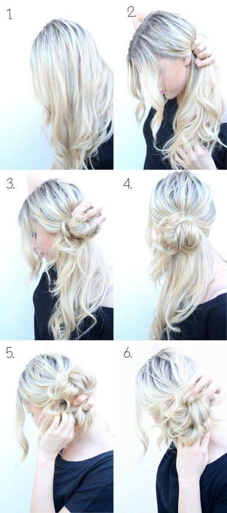 Looped Hair Bun