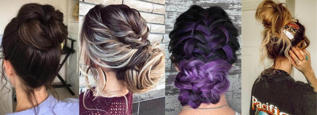 Top Messy Bun Hairstyles For Short, Long And Medium Hair To Rock This Year