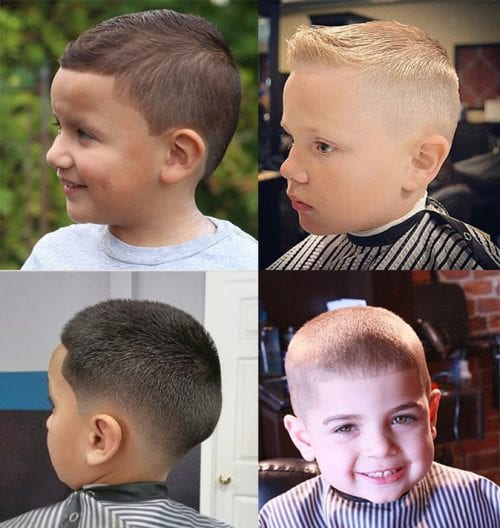 Army Boys Haircut