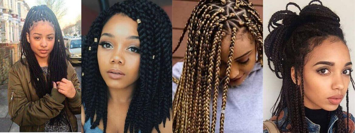 Box Braids Styles That Will Create Elegant Vibes For Black Girls