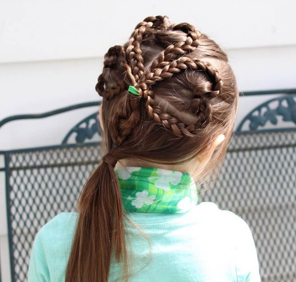 Heart Braid with Ribbon
