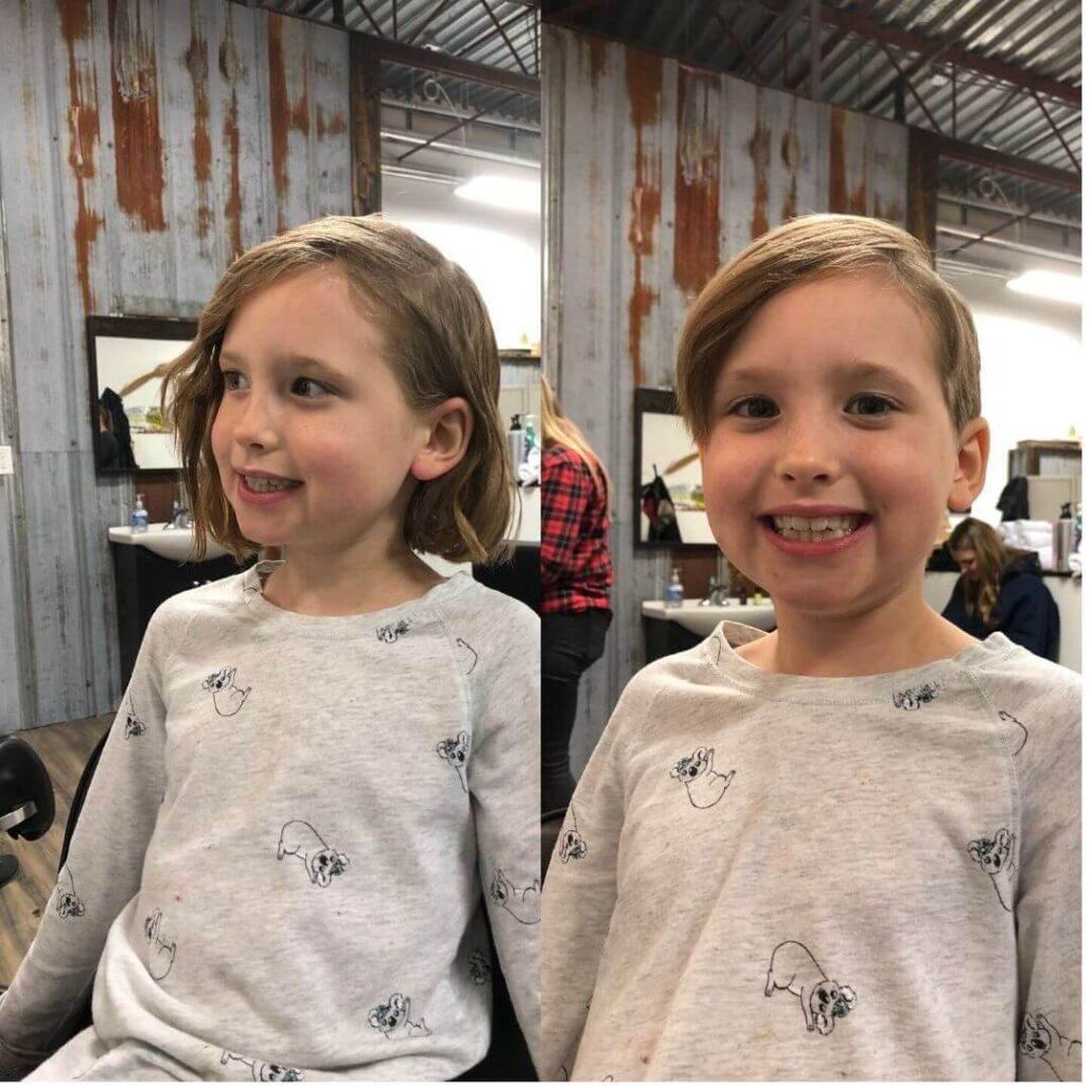 Short & Sweet Pixie Haircut