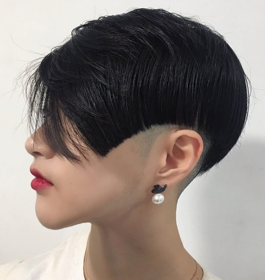 Geometric Shaved Undercut