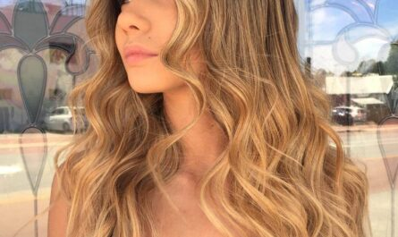 Light Blonde Ombre With Dark Roots
